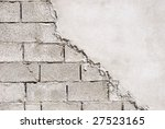 unfinished wall made of... | Shutterstock . vector #27523165