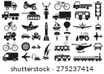 image icons with different... | Shutterstock .eps vector #275237414