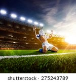 soccer player in action on ...