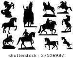 Horses In Stone