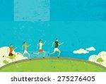 runners  | Shutterstock .eps vector #275276405
