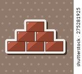 brick theme elements  | Shutterstock .eps vector #275281925