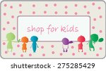 light box shop for kids | Shutterstock .eps vector #275285429