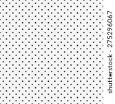 seamless black and white square ... | Shutterstock . vector #275296067