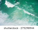 Ocean Waves Shot From Above....
