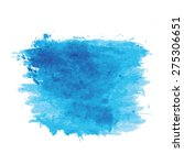 blue watercolor texture... | Shutterstock .eps vector #275306651