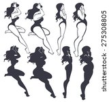 Fat And Slim Pinup Girls...