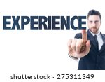 business man pointing the text  ... | Shutterstock . vector #275311349