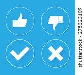 thumbs up | Shutterstock .eps vector #275323109