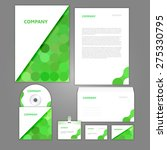 corporate identity business set ... | Shutterstock .eps vector #275330795