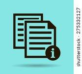 catalog vector icon | Shutterstock .eps vector #275332127