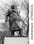 Statue Of Winston Churchill ...