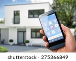 smart house  home automation ...   Shutterstock . vector #275366849
