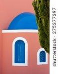 Details Of Houses On Santorini...