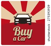 buy a car illustration over... | Shutterstock .eps vector #275393939