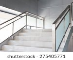 white stairs in modern business ... | Shutterstock . vector #275405771