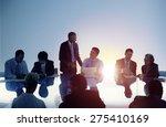 business people meeting working ... | Shutterstock . vector #275410169