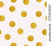 vector seamless polka dot... | Shutterstock .eps vector #275413565