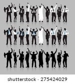 business people team connection ... | Shutterstock .eps vector #275424029