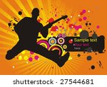 abstract background with a... | Shutterstock .eps vector #27544681