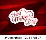 elegant vector card design for...   Shutterstock .eps vector #275470577