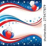 vector illustration of fourth... | Shutterstock .eps vector #275477879