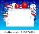 vector illustration of fourth... | Shutterstock .eps vector #275477885
