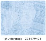 Blueprint   Hand Draw Sketch...