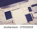 letterhead and logo design... | Shutterstock . vector #275532029