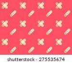plaster flat design vector... | Shutterstock .eps vector #275535674