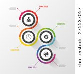 colorful abstract infographic...