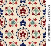 victorian seamless pattern | Shutterstock . vector #275547101