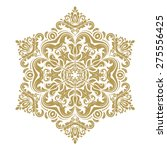 oriental vector pattern with... | Shutterstock .eps vector #275556425