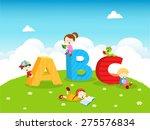 abc kids | Shutterstock .eps vector #275576834