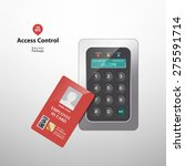 access control | Shutterstock .eps vector #275591714