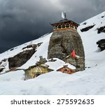 tungnath is the temple of lord... | Shutterstock . vector #275592635