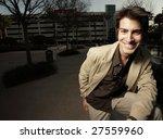 casual businessman | Shutterstock . vector #27559960