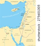 eastern mediterranean political ...   Shutterstock .eps vector #275601305