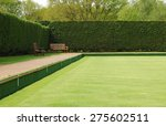 bowling green lawn perspective   Shutterstock . vector #275602511