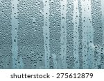 abstract rain drop on glass in... | Shutterstock . vector #275612879