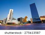 paseo de la reforma square in... | Shutterstock . vector #275613587