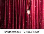fun little boy in makeup... | Shutterstock . vector #275614235