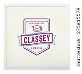 vintage label  logotype  badge... | Shutterstock .eps vector #275615579