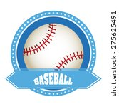 sport emblem design  vector... | Shutterstock .eps vector #275625491