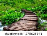 wooden path in national park in ... | Shutterstock . vector #275625941
