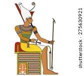 pharaoh   egyptian ancient...   Shutterstock . vector #275630921
