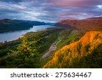 evening view from the vista... | Shutterstock . vector #275634467
