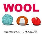 ball of wool sign illustration | Shutterstock .eps vector #275636291