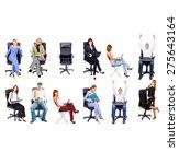 people diversity team over... | Shutterstock . vector #275643164