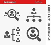 businessmen icons. professional ... | Shutterstock .eps vector #275648855